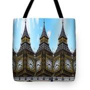 Big Ben Time Tote Bag