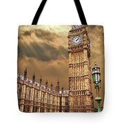 Big Ben's House Tote Bag by Meirion Matthias