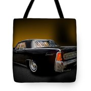 Big Black Lincoln Rag Top Tote Bag