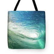Big Blue Eye Tote Bag