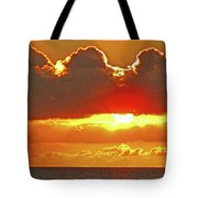 Big Bold Sunset Tote Bag