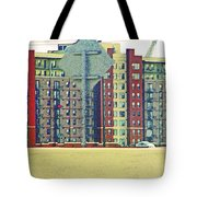Big Boxes On The Hillside Tote Bag
