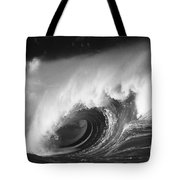 Big Breaking Wave - Bw Tote Bag