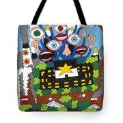 Big Brother Tote Bag by Rojax Art