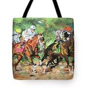 Big Brown Derby Tote Bag