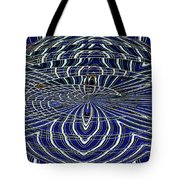 Big Building Abstract Tote Bag