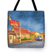 Big Bunny Motel Tote Bag by Juli Scalzi