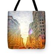 Big City, Bigger Life Tote Bag