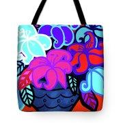 Big Colorful Lillies 2 Tote Bag