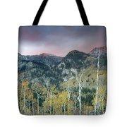 Big Cottonwood Canyon Sunrise Tote Bag