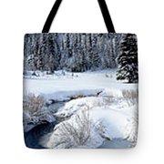 Big Cottonwood Creek Tote Bag