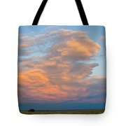 Big Country Sunset Sky Tote Bag