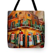Big Easy Sunset Tote Bag