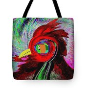 Big Fat Red Hen Tote Bag