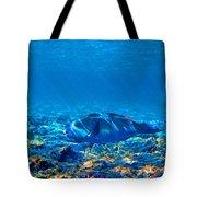 Big Fish. Underwater World. Tote Bag