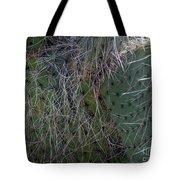 Big Fluffy Cactus Tote Bag