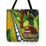Big Foot Tote Bag by Rojax Art
