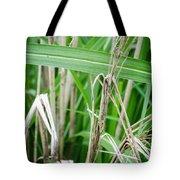Big Grass Blade Tote Bag