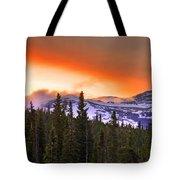 Big Horn Sunset Tote Bag