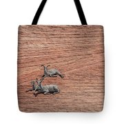 Big Horned Sheep Of Zion Tote Bag