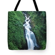 Big Island Watefall Tote Bag