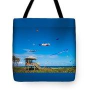 Big Kites Delray Beach Tote Bag