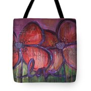 Big Love Poppies Tote Bag