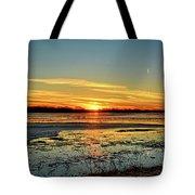 Big Marsh Sunset 2 Tote Bag