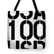 Big Money 100 Usd Tote Bag