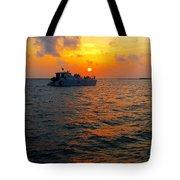 Big Pass Sunset Sarasota Florida Tote Bag