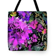 Big Pink Flower Tote Bag