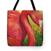 Big Pink Tote Bag