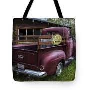 Big Red Ford Truck Tote Bag