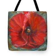 Big Red Poppy Tote Bag