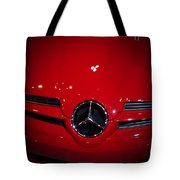 Big Red Smile - Mercedes-benz S L R Mclaren Tote Bag