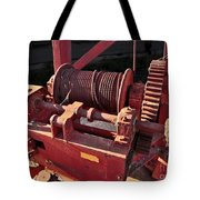 Big Red Winch Tote Bag