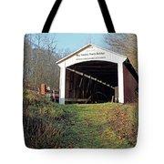 Big Rocky Fork Bridge Indiana Tote Bag