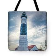 Big Sable Light On Lake Michigan Tote Bag