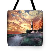 Big sable lighthouse painting by bekim art - Prix big bag sable ...