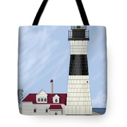 Big Sable Michigan Tote Bag