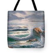 Big Seastorm - Italy Tote Bag