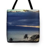Over Molokai Tote Bag