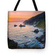 Big Sur Evening Tote Bag