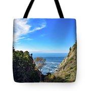 Big Sur Partington Cove Tote Bag
