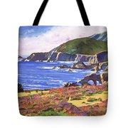 Big Sur Wildflowers - Plein Air Tote Bag