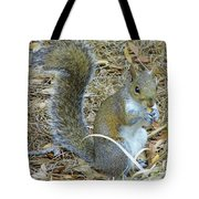 Big Tail Little Nut Tote Bag