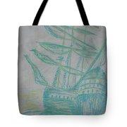 Big Tall Sail Tote Bag