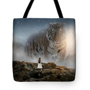 Big Tiger Tote Bag
