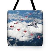 Big V Formation Tote Bag