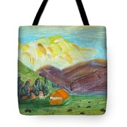 Big Valley Tote Bag by Steve Jorde